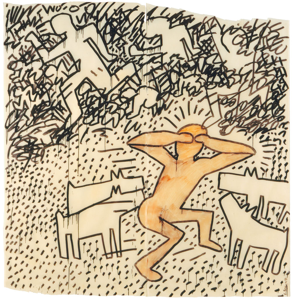 Haring-K Untitled 1981-03